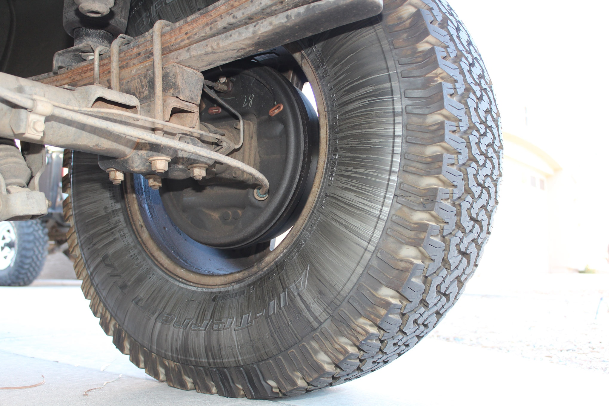 05 nuts failed wheel seal
