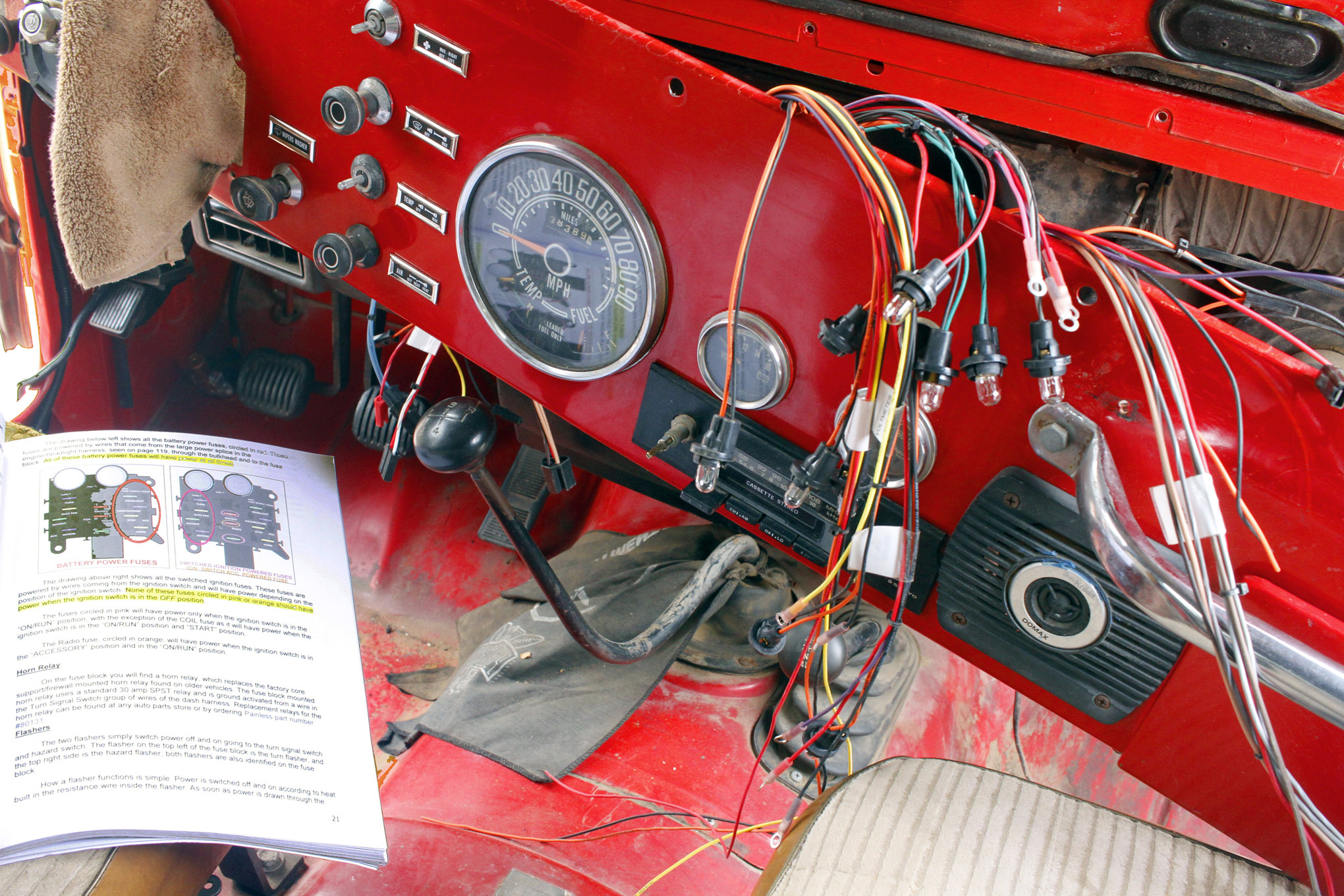 how to rewire a jeep cj 1986 Jeep CJ7 Wiring-Diagram