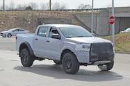 2021 ford ranger raptor mule front quarter 04