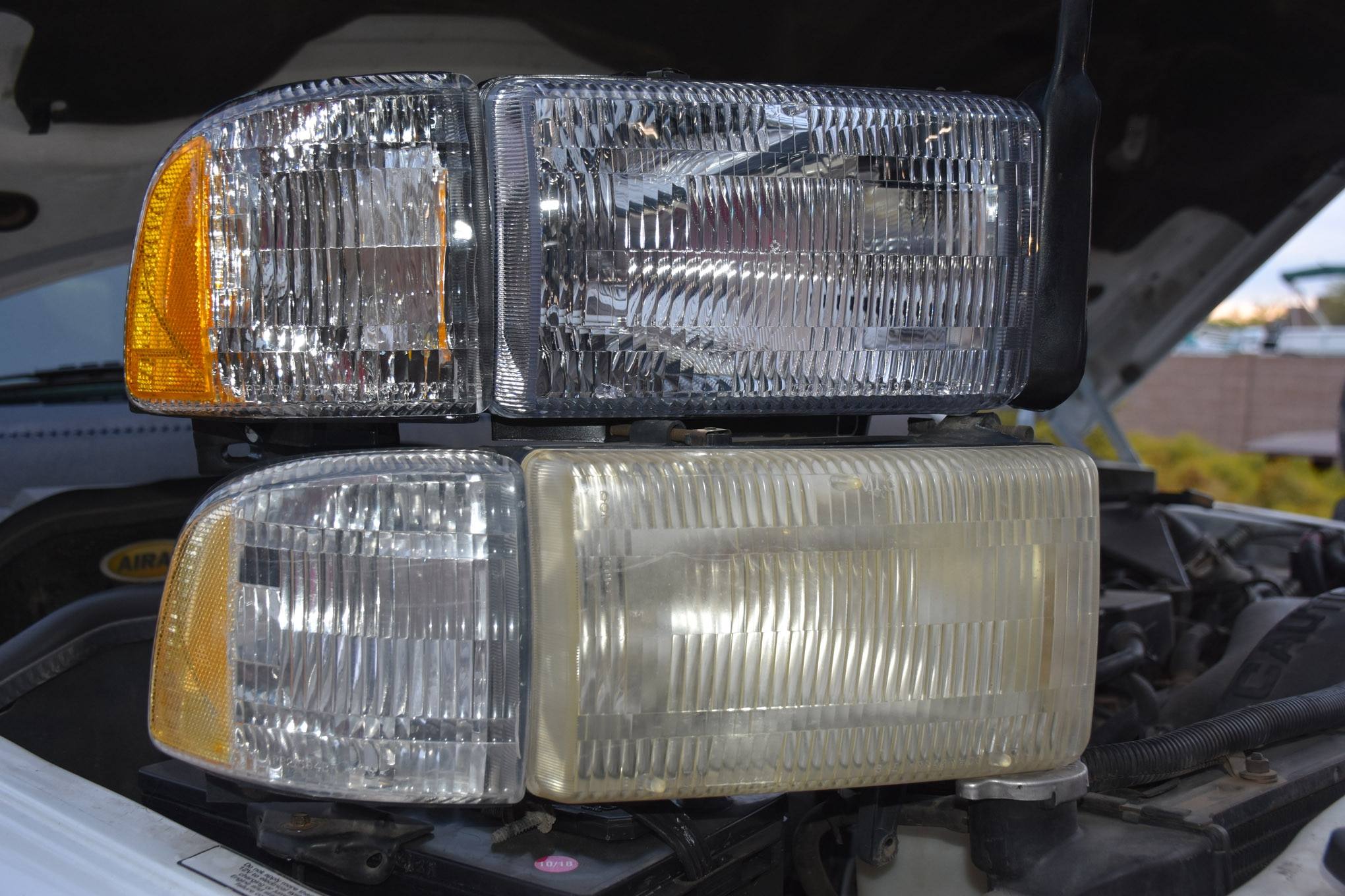 new headlights for old truck lead