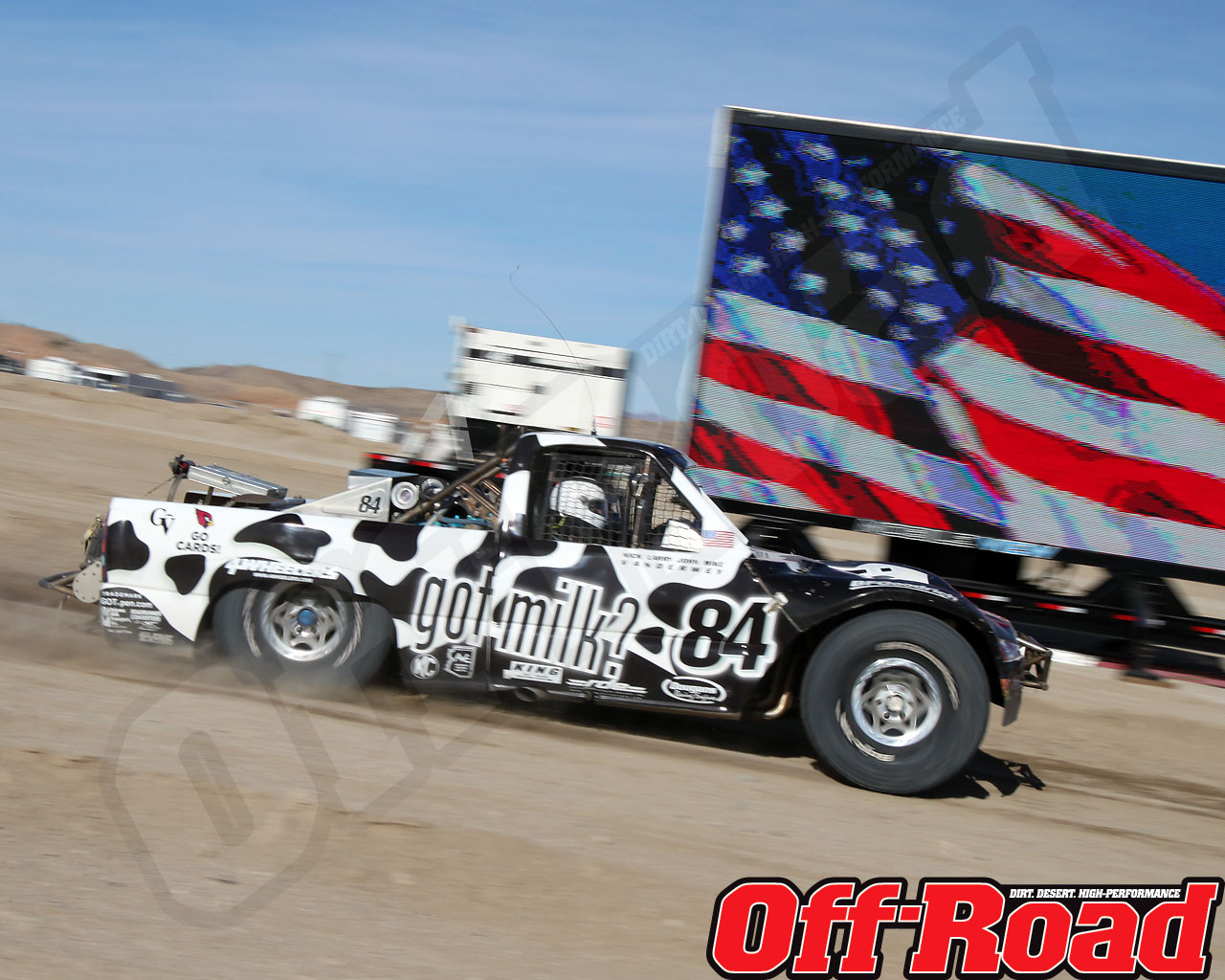 1002or 0586 o+2010 score laughlin desert challenge+trophy truck