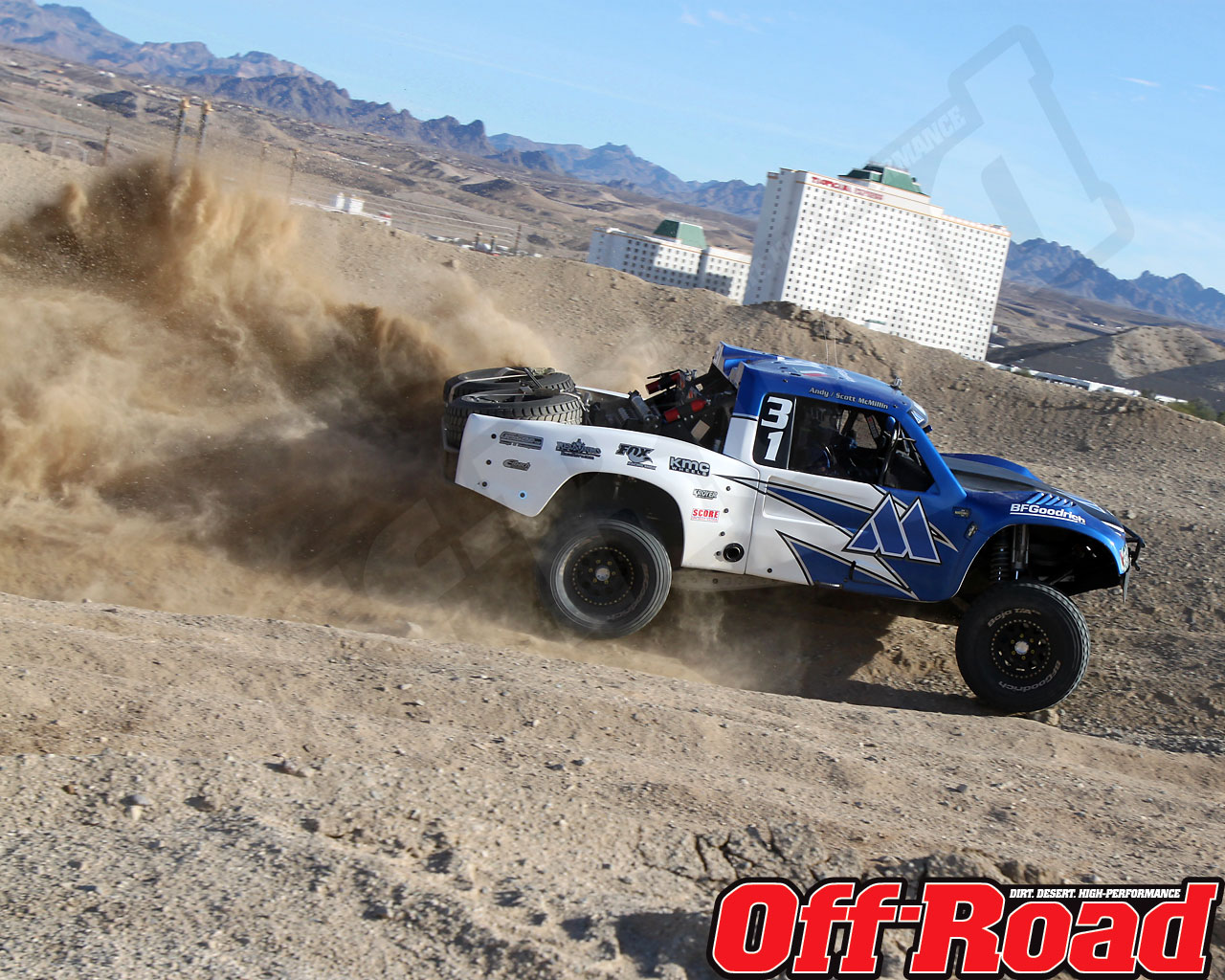 1002or 0609 o+2010 score laughlin desert challenge+trophy truck