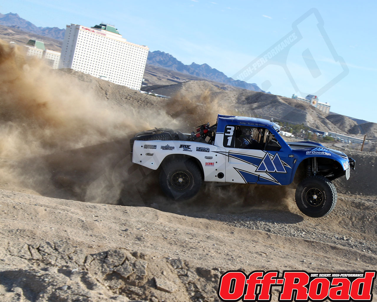 1002or 0610 o+2010 score laughlin desert challenge+trophy truck