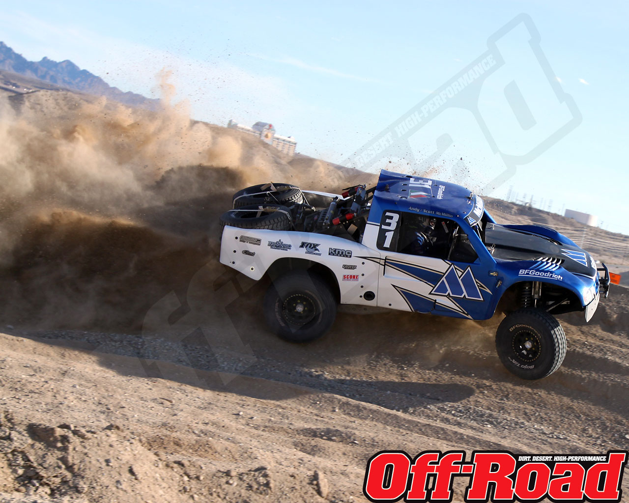 1002or 0611 o+2010 score laughlin desert challenge+trophy truck