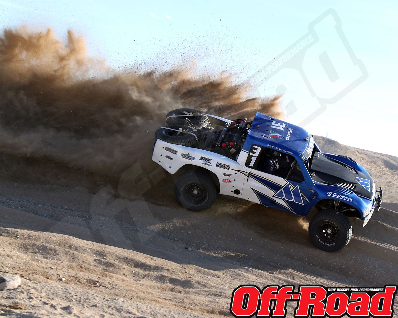 1002or 0612 o+2010 score laughlin desert challenge+trophy truck