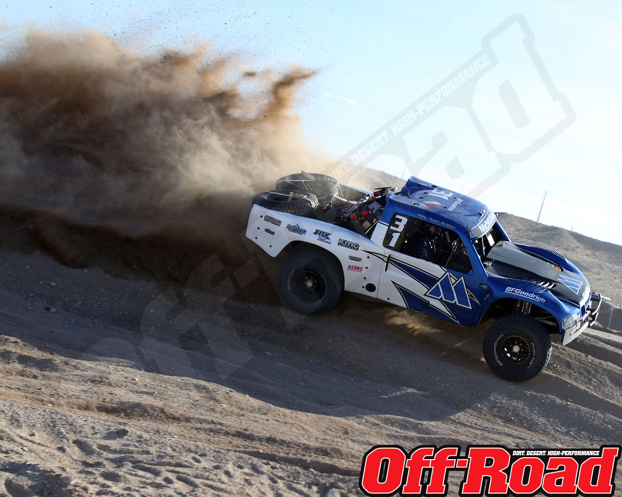 1002or 0613 o+2010 score laughlin desert challenge+trophy truck