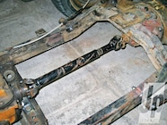 A NAPA 1310 to 1350 conversion U-joint (PN NPJP348) was