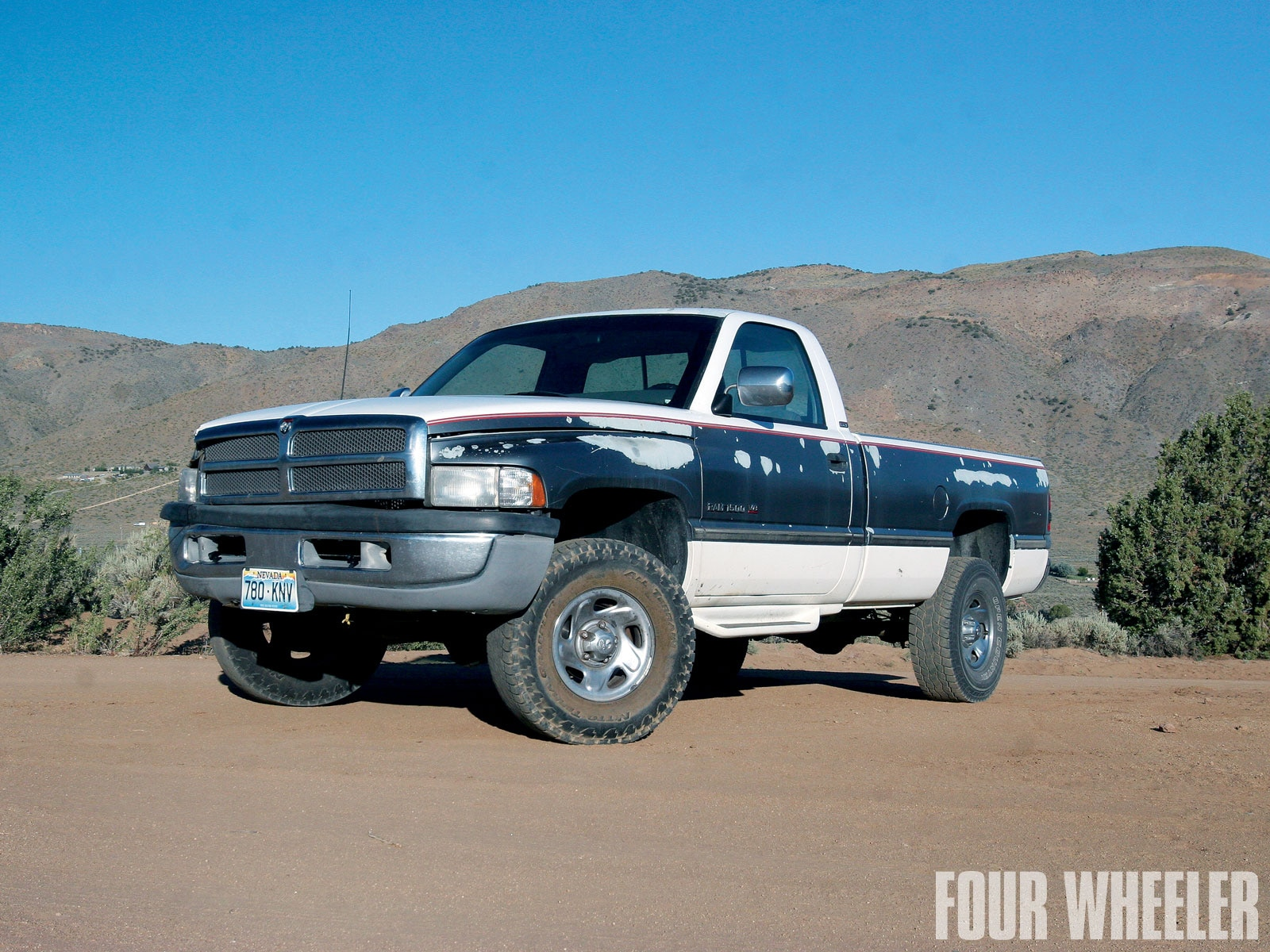 129 1005 01+reworked 1994 dodge ram 1500+truck