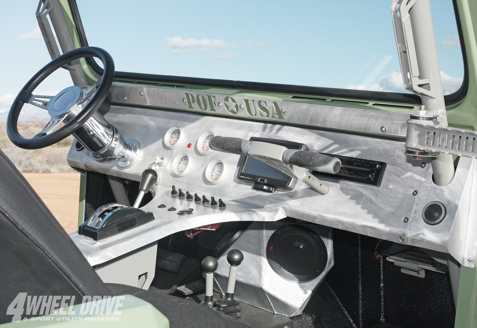 1007 4wd 12+1984 jeep CJ7+aluminum dash