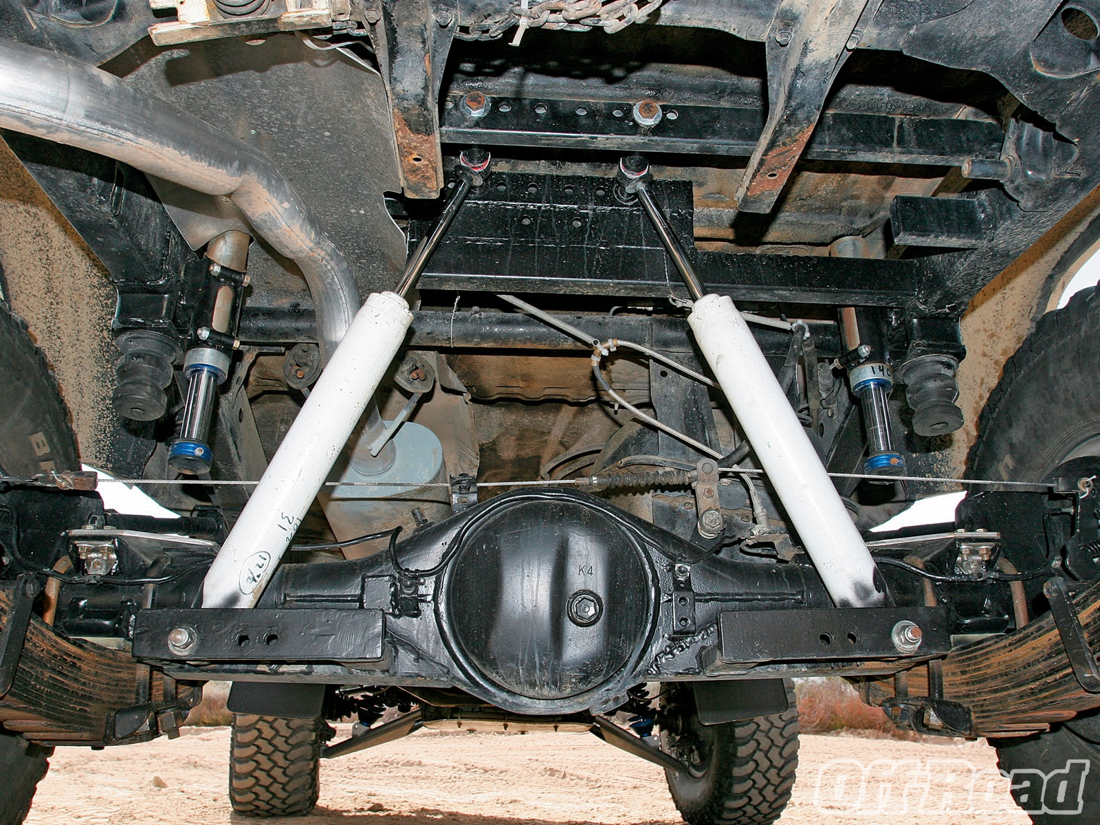 1007or 09 +1989 toyota 4runner+rear axle