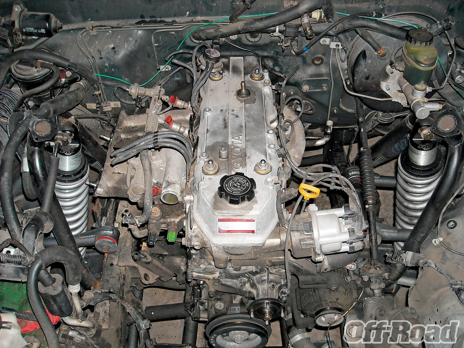1007or 05 +toyota 22re engine swap+engine