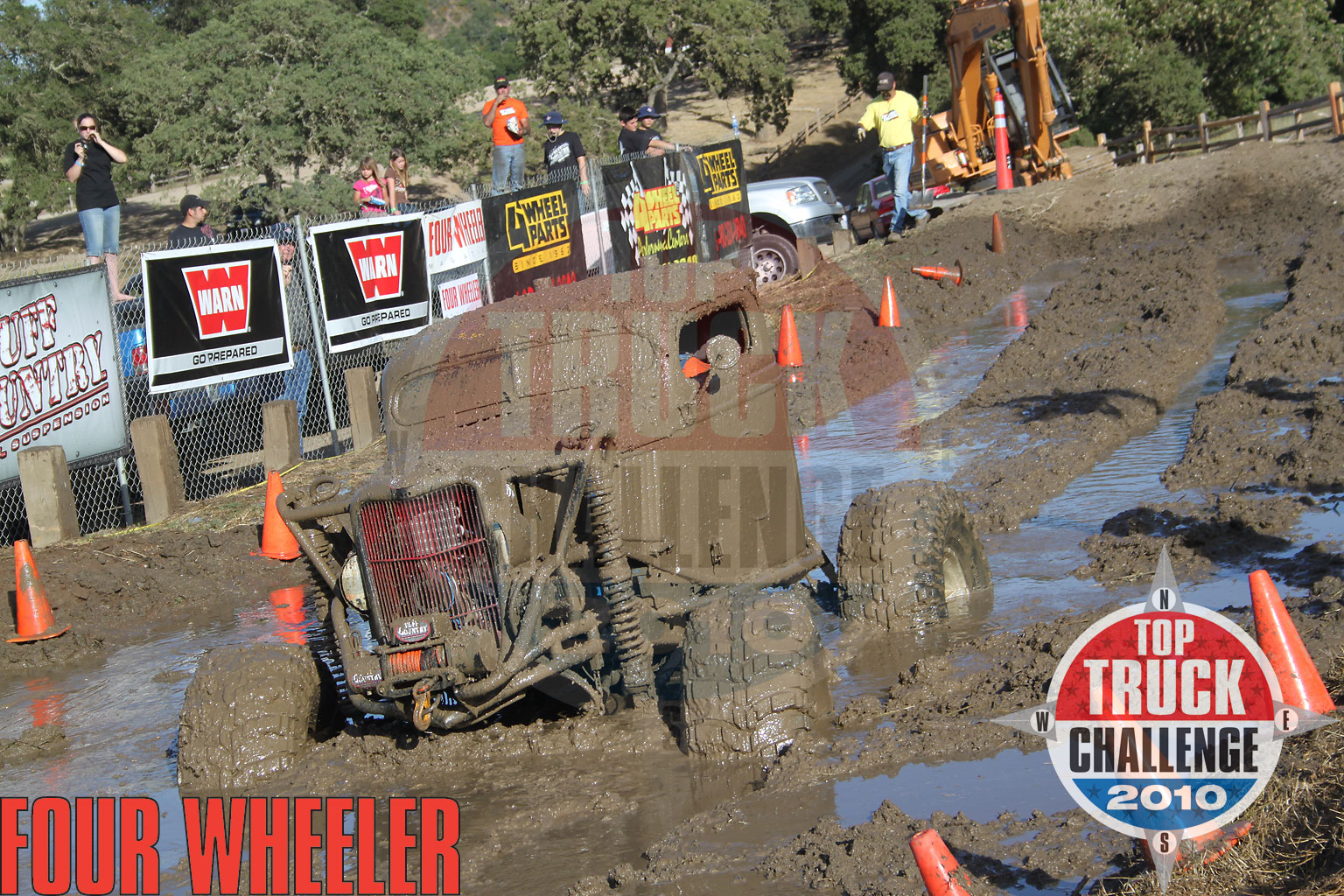 2010 Top Truck Challenge Mud Pit Kevin Simmons 1937 Ford Pickup
