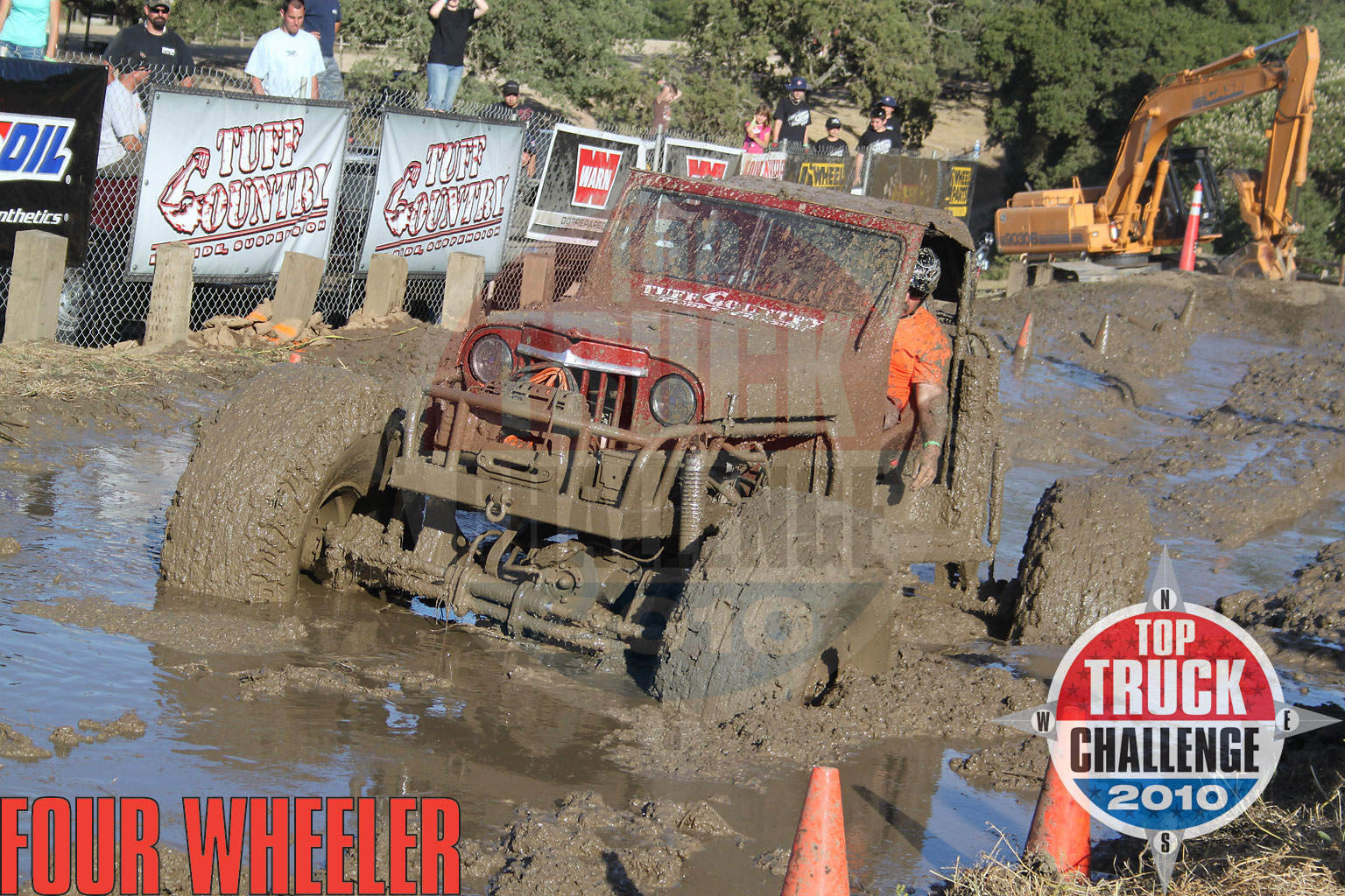 2010 Top Truck Challenge Mud Pit Pj Hale 1948 Willys Buggy