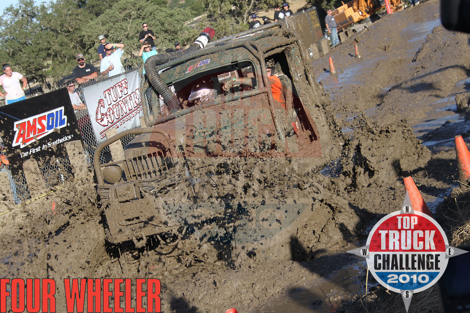 2010 Top Truck Challenge Mud Pit Roger King 1964 Dodge Wm300 Power Wagon