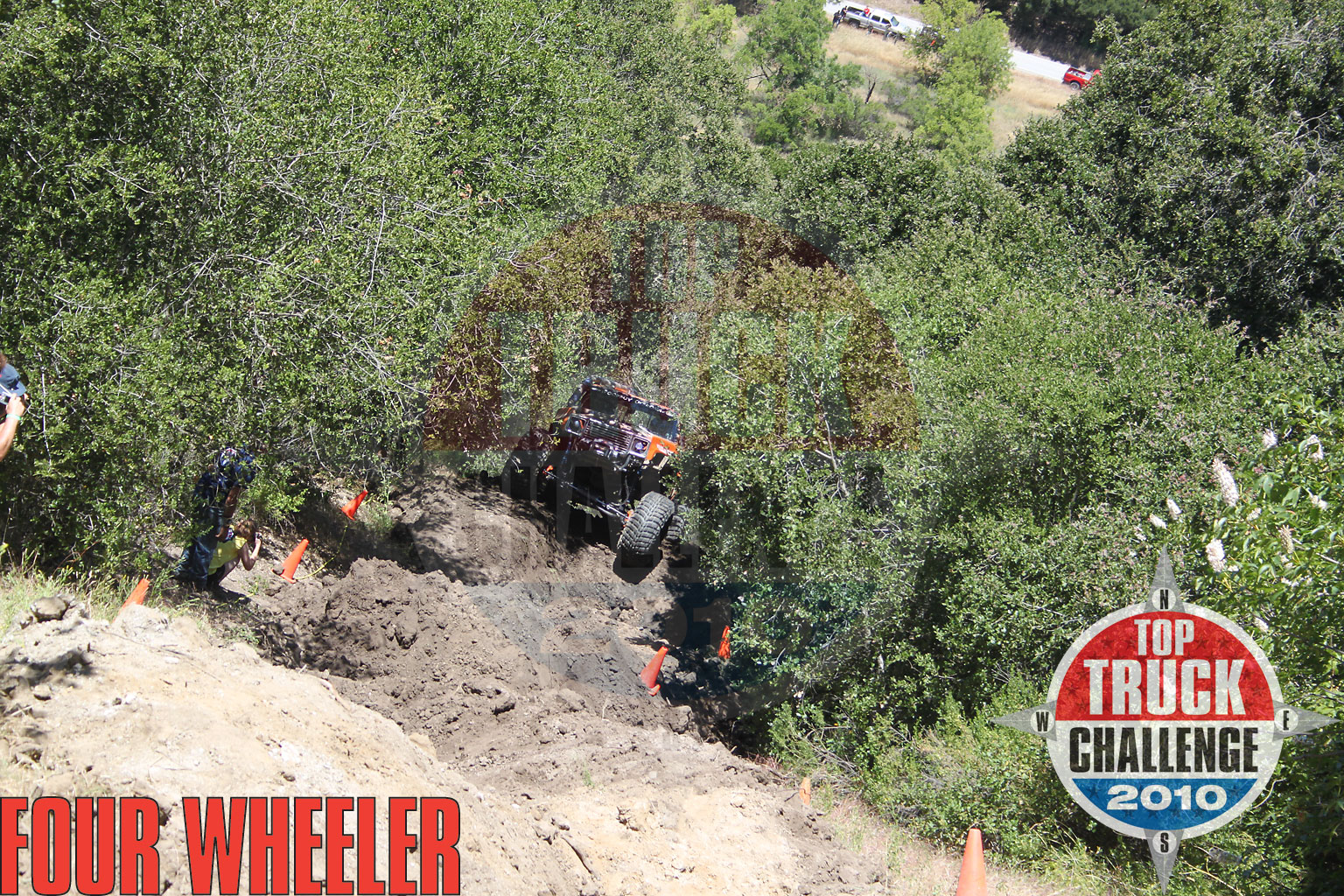2010 Top Truck Challenge Hill Climb Jason Gray 1975 Chevy Blazer
