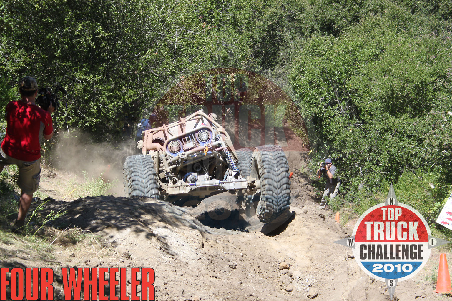 129 1006 4786+2010 top truck challenge hill climb+joe quichocho tube chassis cj7 buggy