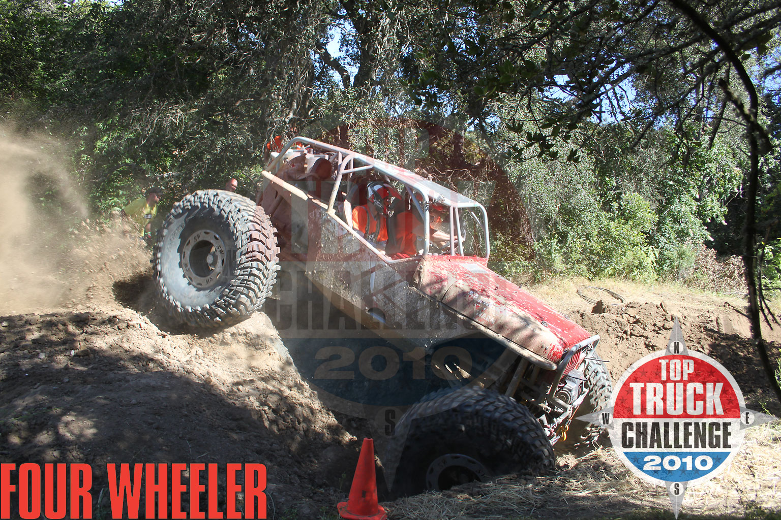 129 1006 4807+2010 top truck challenge hill climb+mike karwath 2009 tube chassis yj buggy