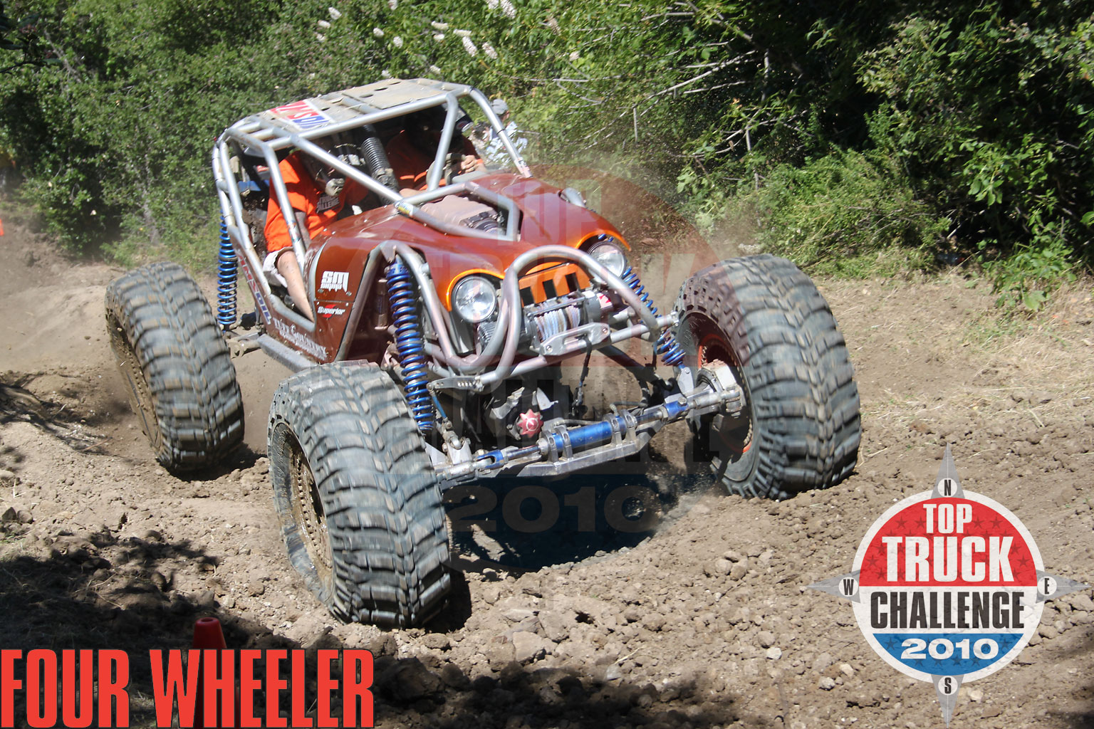 129 1006 4818+2010 top truck challenge hill climb+leo kuether 2007 cole works fat girl buggy