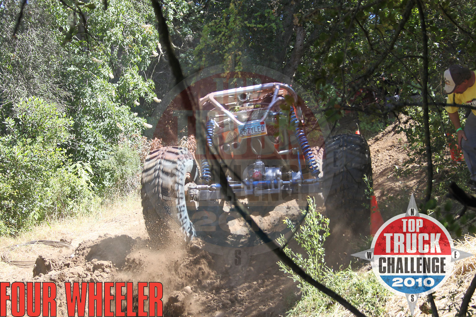 129 1006 4827+2010 top truck challenge hill climb+leo kuether 2007 cole works fat girl buggy