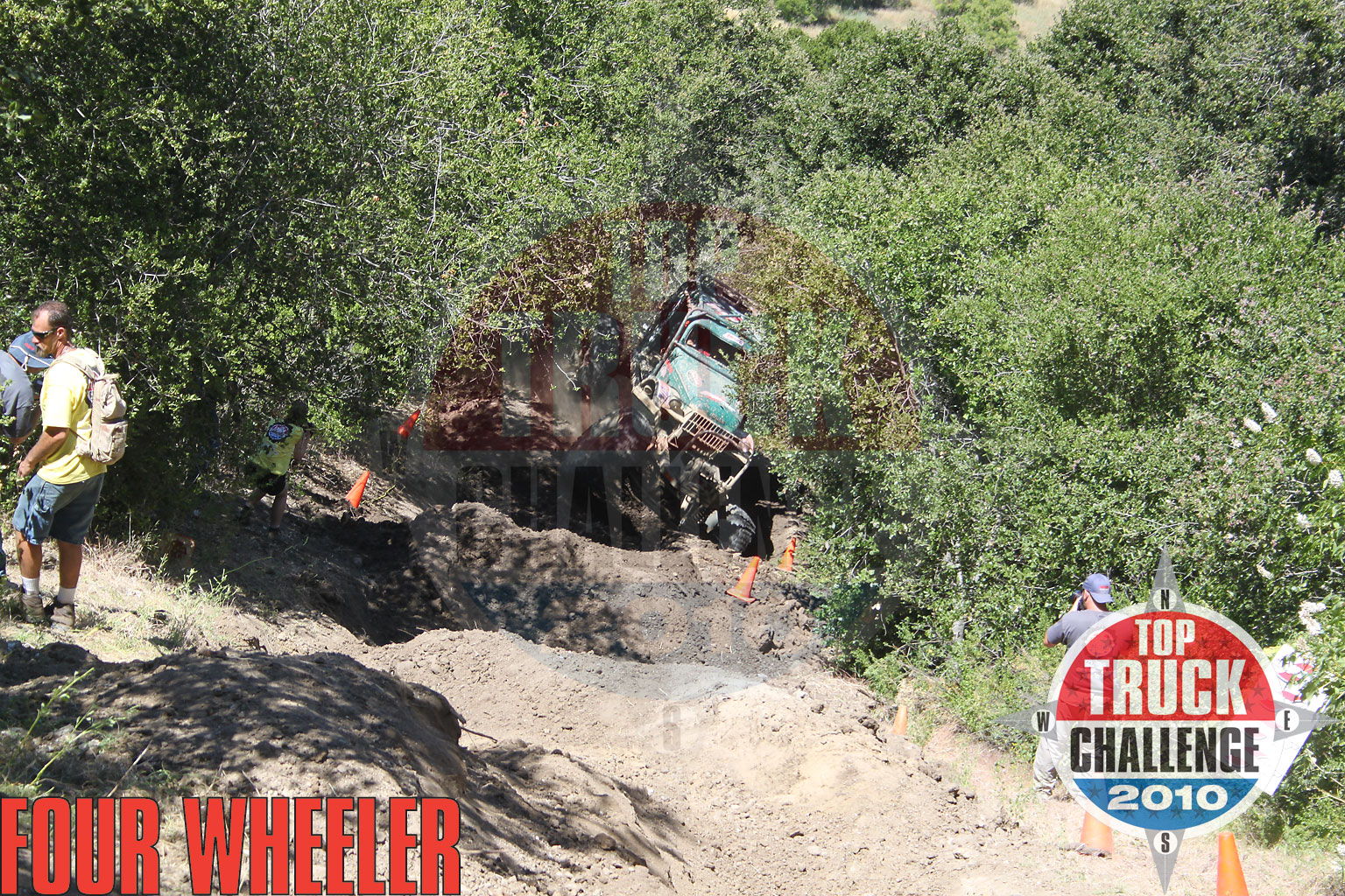 2010 Top Truck Challenge Hill Climb Roger King 1964 Dodge Wm300 Power Wagon
