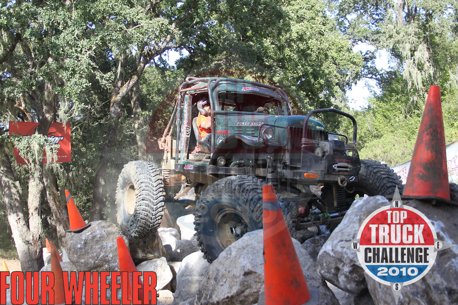 2010 Top Truck Challenge Mini Rubicon Roger King 1964 Dodge Wm300 Power Wagon