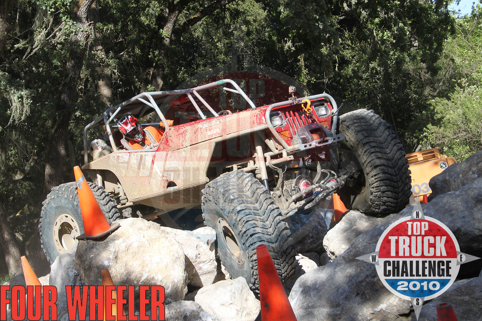 2010 Top Truck Challenge Mini Rubicon Mike Karwath 2009 Tube Chassis Yj Buggy