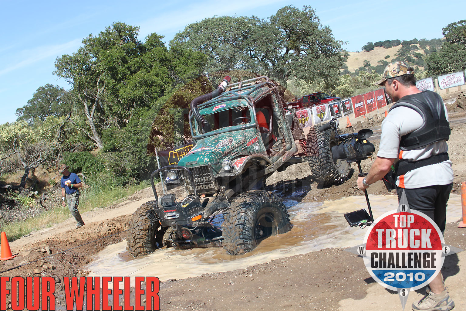 2010 Top Truck Challenge Frame Twister Roger King 1964 Dodge Wm300 Power Wagon