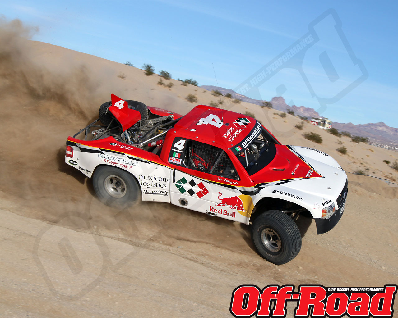 1002or 0633 o+2010 score laughlin desert challenge+trophy truck