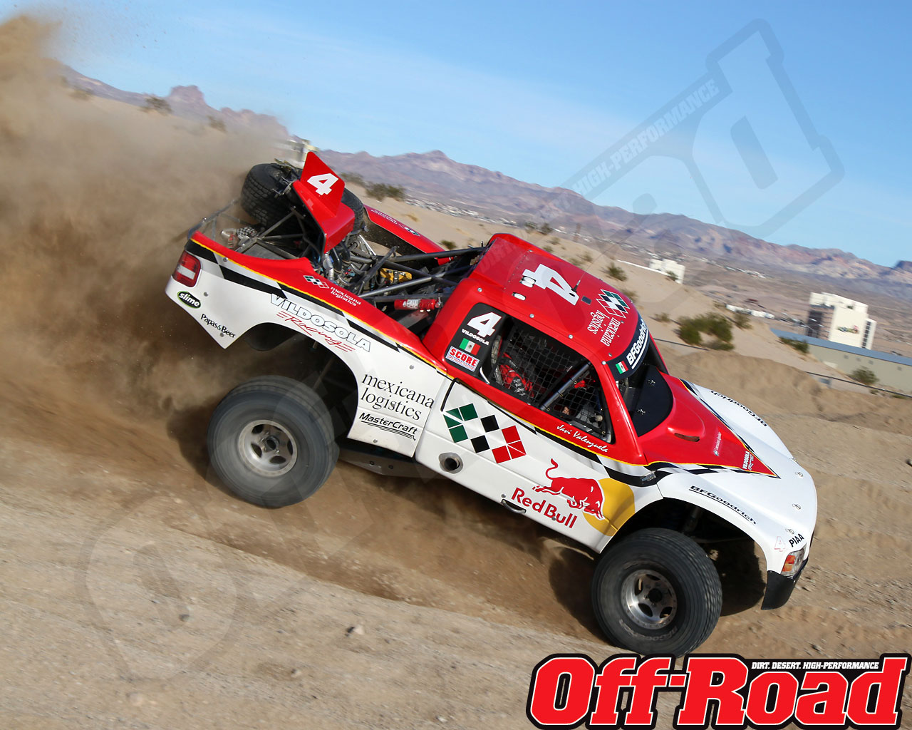1002or 0634 o+2010 score laughlin desert challenge+trophy truck