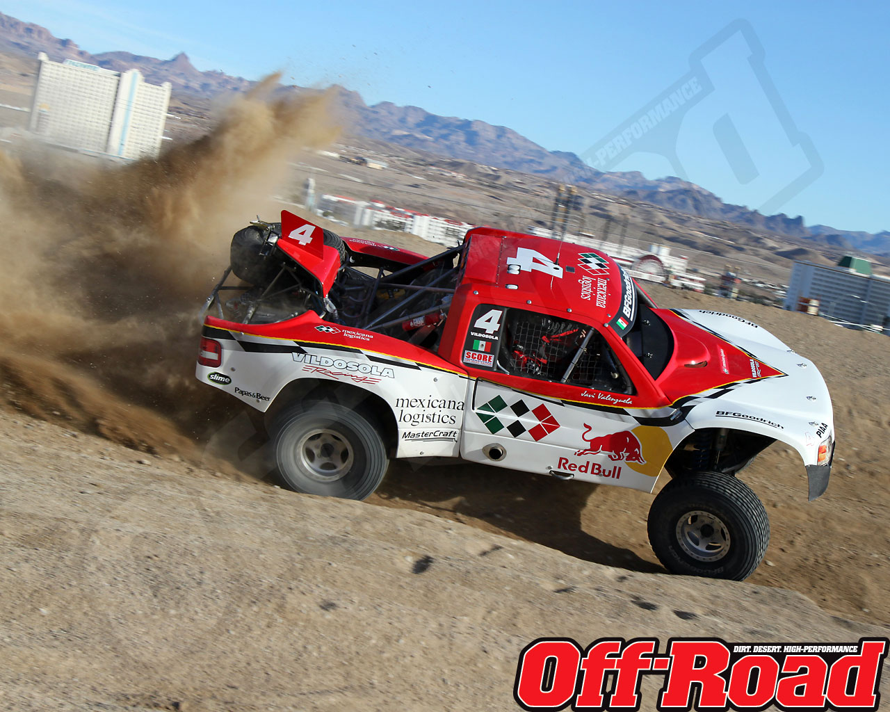 1002or 0636 o+2010 score laughlin desert challenge+trophy truck