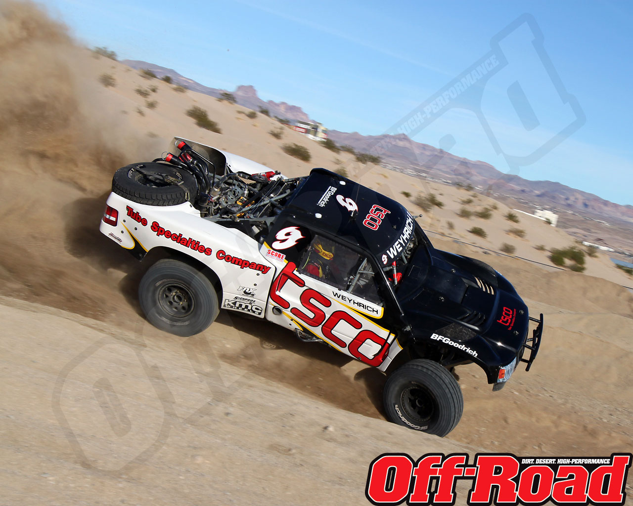 1002or 0641 o+2010 score laughlin desert challenge+trophy truck