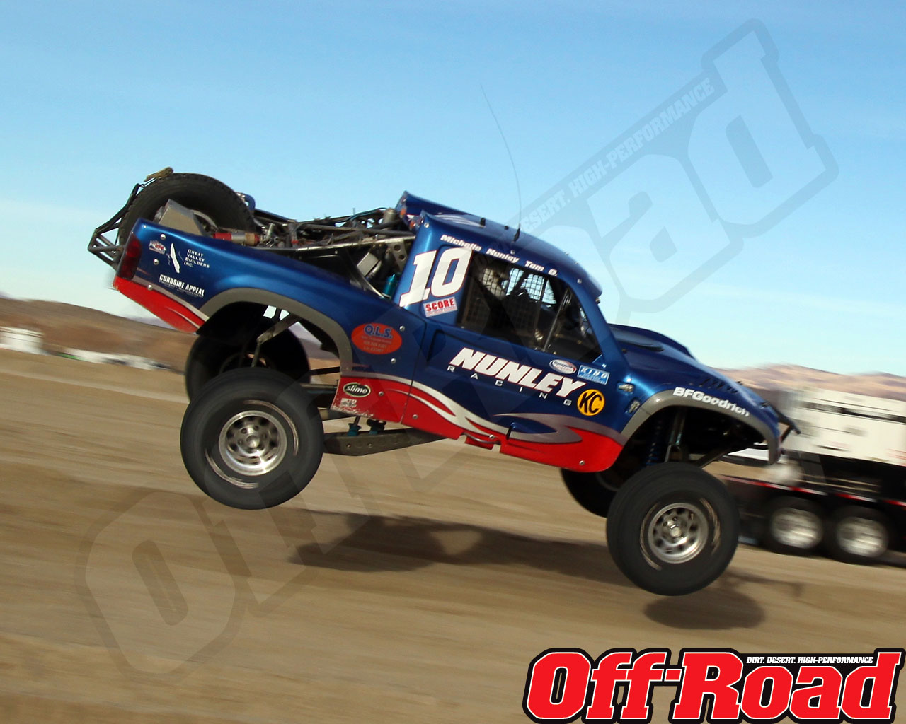1002or 0655 o+2010 score laughlin desert challenge+trophy truck