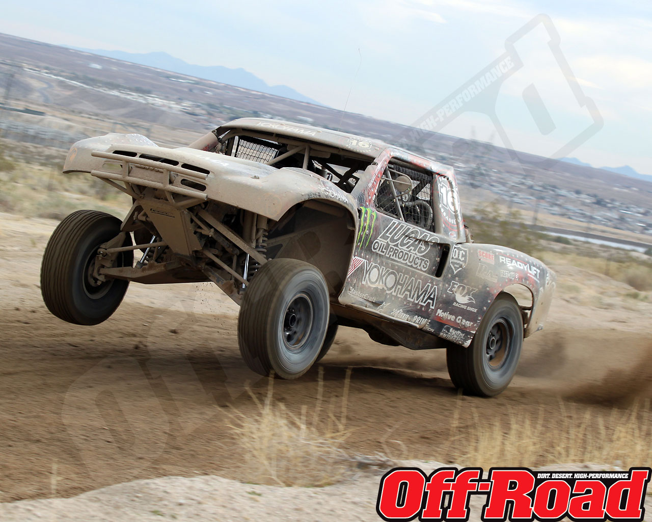 1002or 1409 o+2010 score laughlin desert challenge+trophy truck