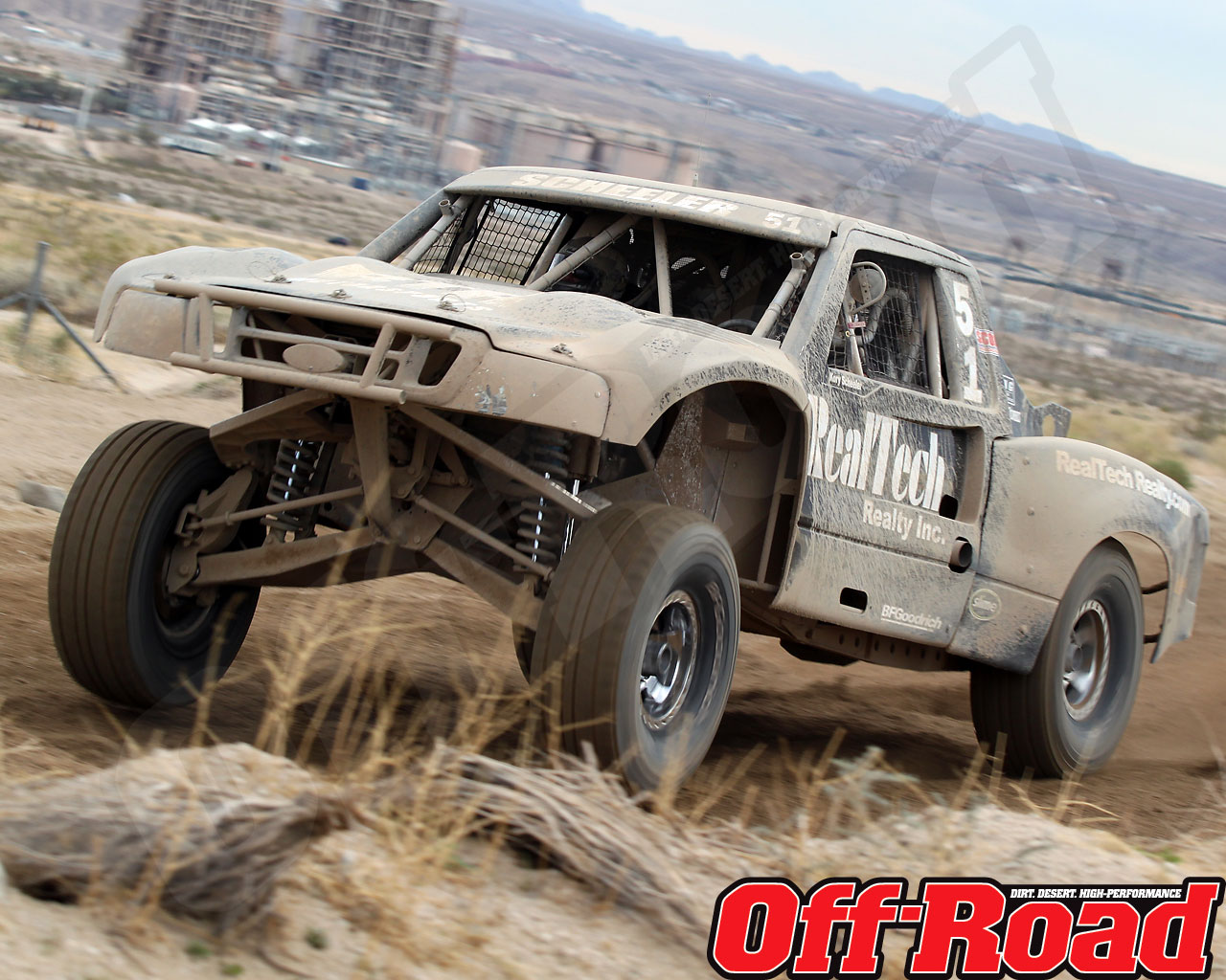 1002or 1442 o+2010 score laughlin desert challenge+trophy truck