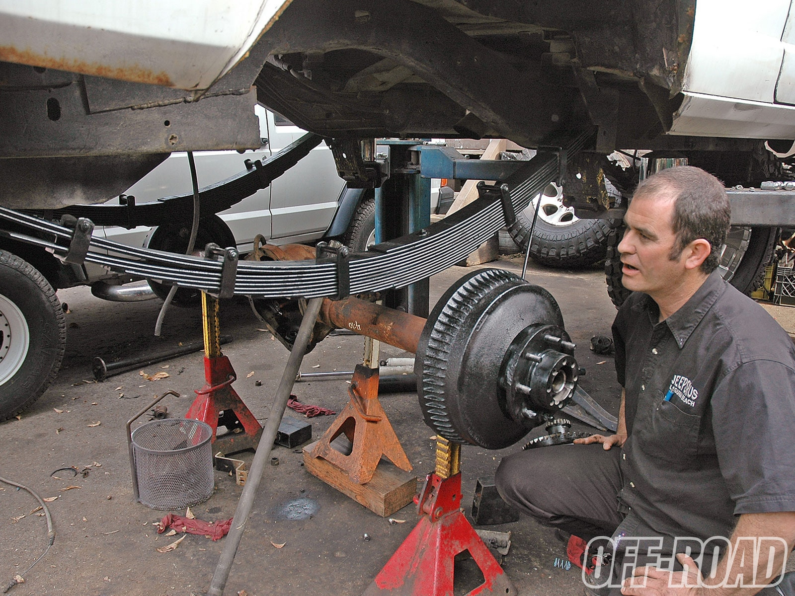 1005or 08 +front and rear axle build+leaf springs