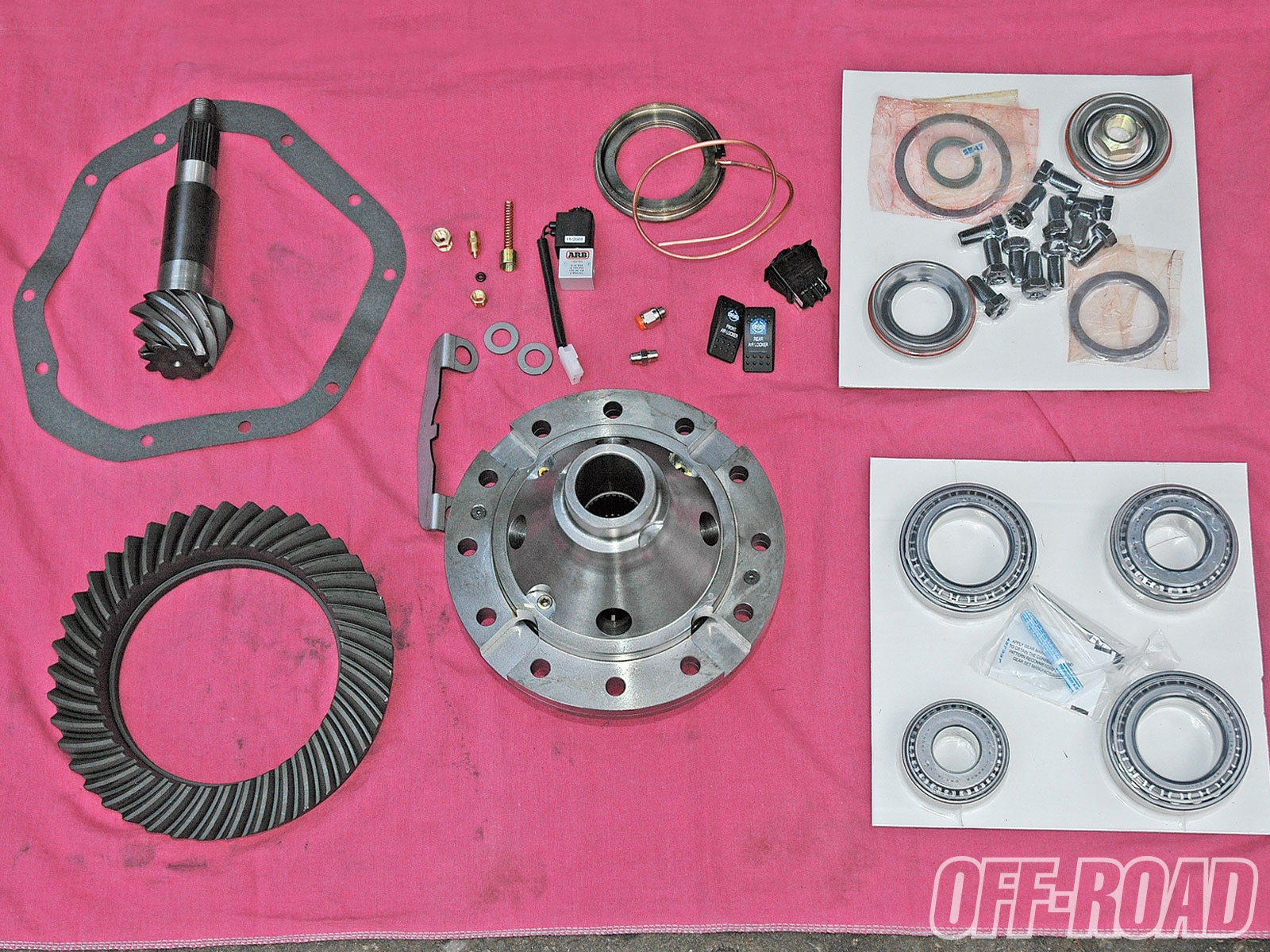1005or 09 +front and rear axle build+differential kit
