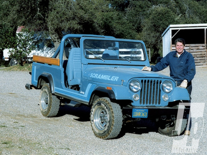 Reagan's 1983 CJ-8 Scrambler & 1962 Jeep CJ-6 - CJ One