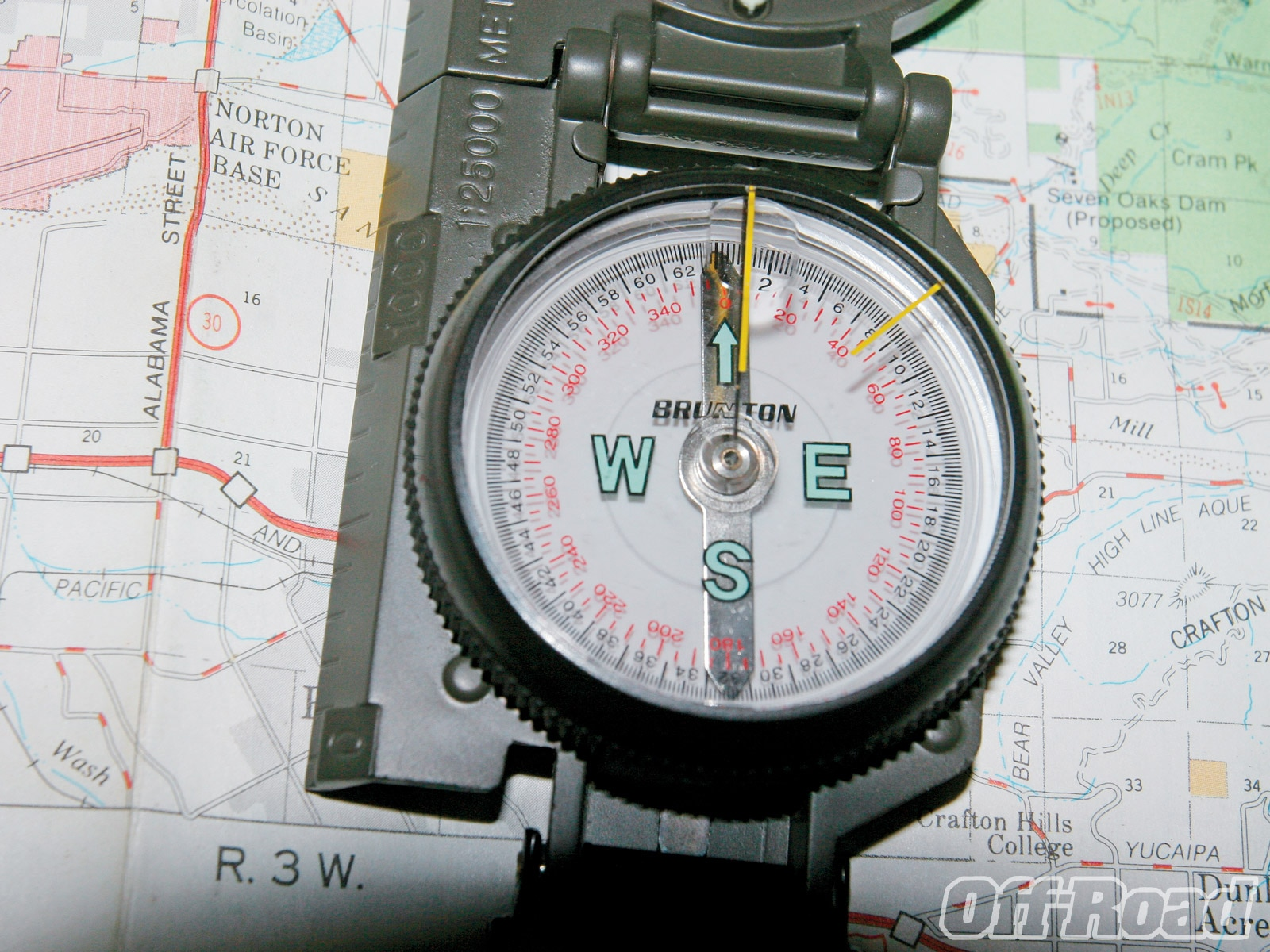 1006or 14 +navigate without gps map compass+compass