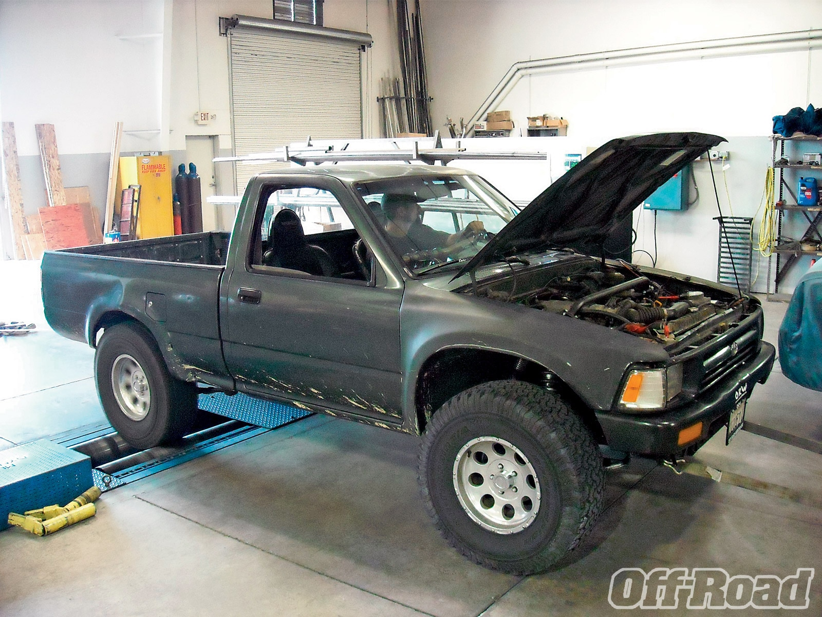 1007or 02 +toyota 22re engine swap+1993 toyota pickup