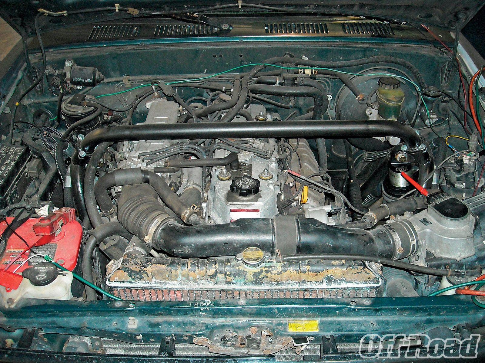 1007or 03 +toyota 22re engine swap+stock engine