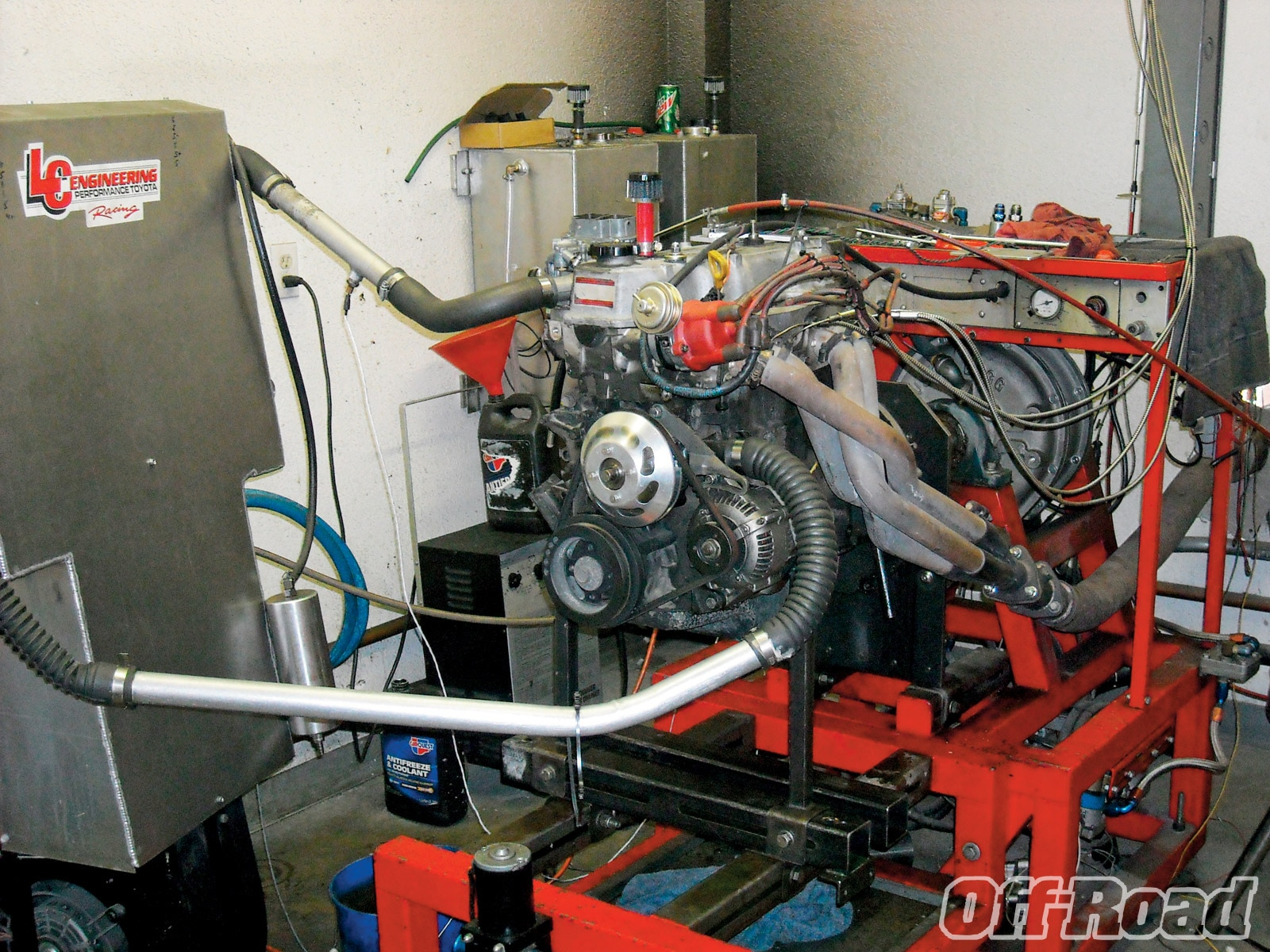 1007or 07 +toyota 22re engine swap+dyno
