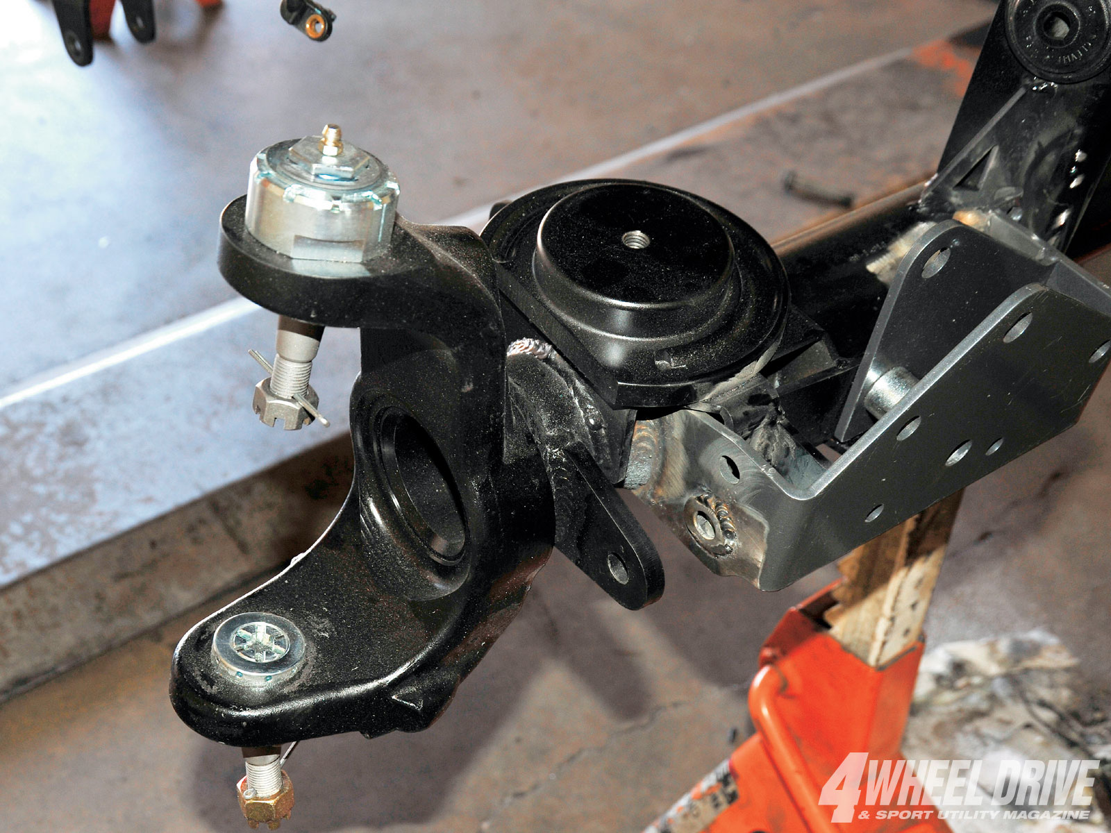 1101 4wd 04+2008 jeep wrangler JK rubicon+dynatrac proSteer ball joints