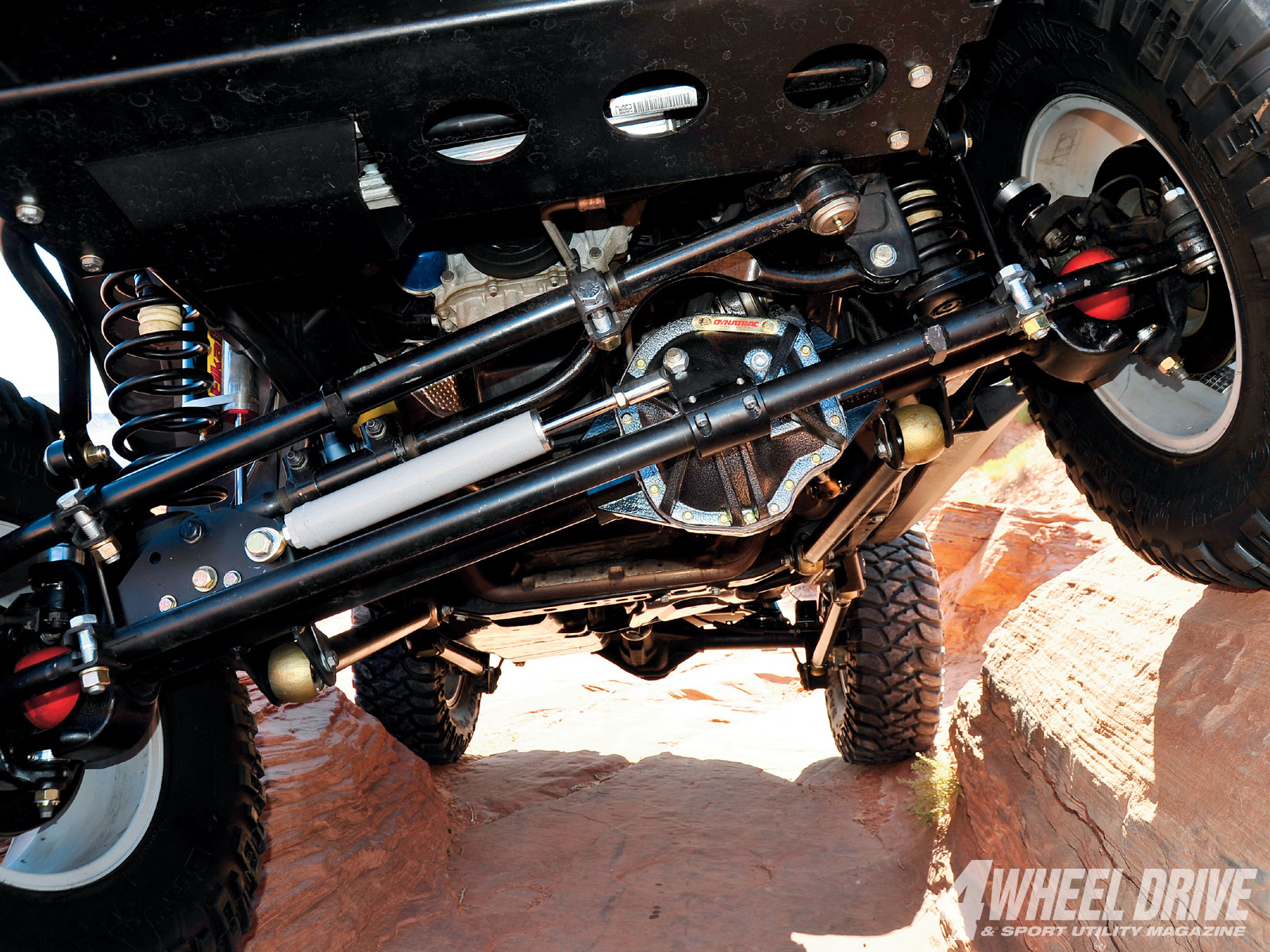 1101 4wd 05+2008 jeep wrangler JK rubicon+currie enterprises JK drag link and tie rod