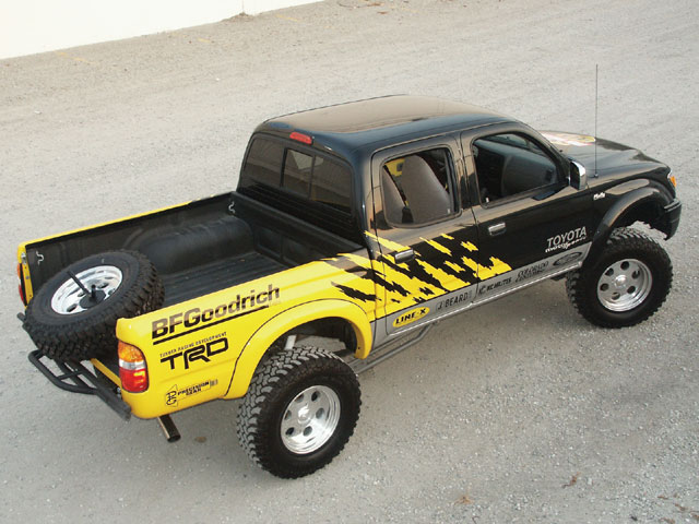 129 0211 02 z+toyota tacoma sweepstakes+side view