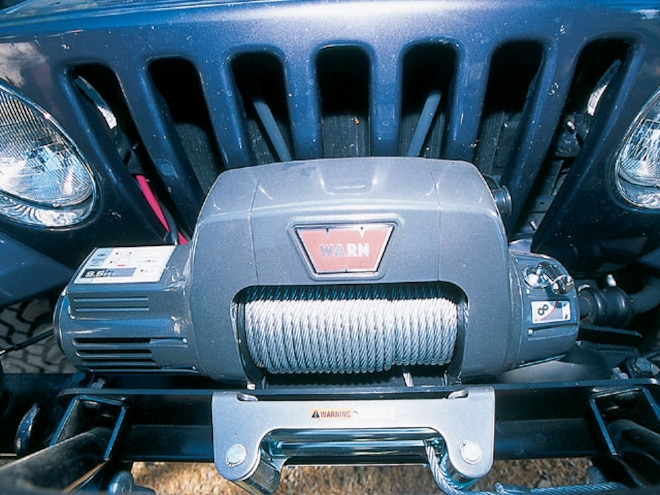 Fabulous Warn Winch Install On Jeep Tj Four Wheeler Magazine Wiring Cloud Hisonuggs Outletorg
