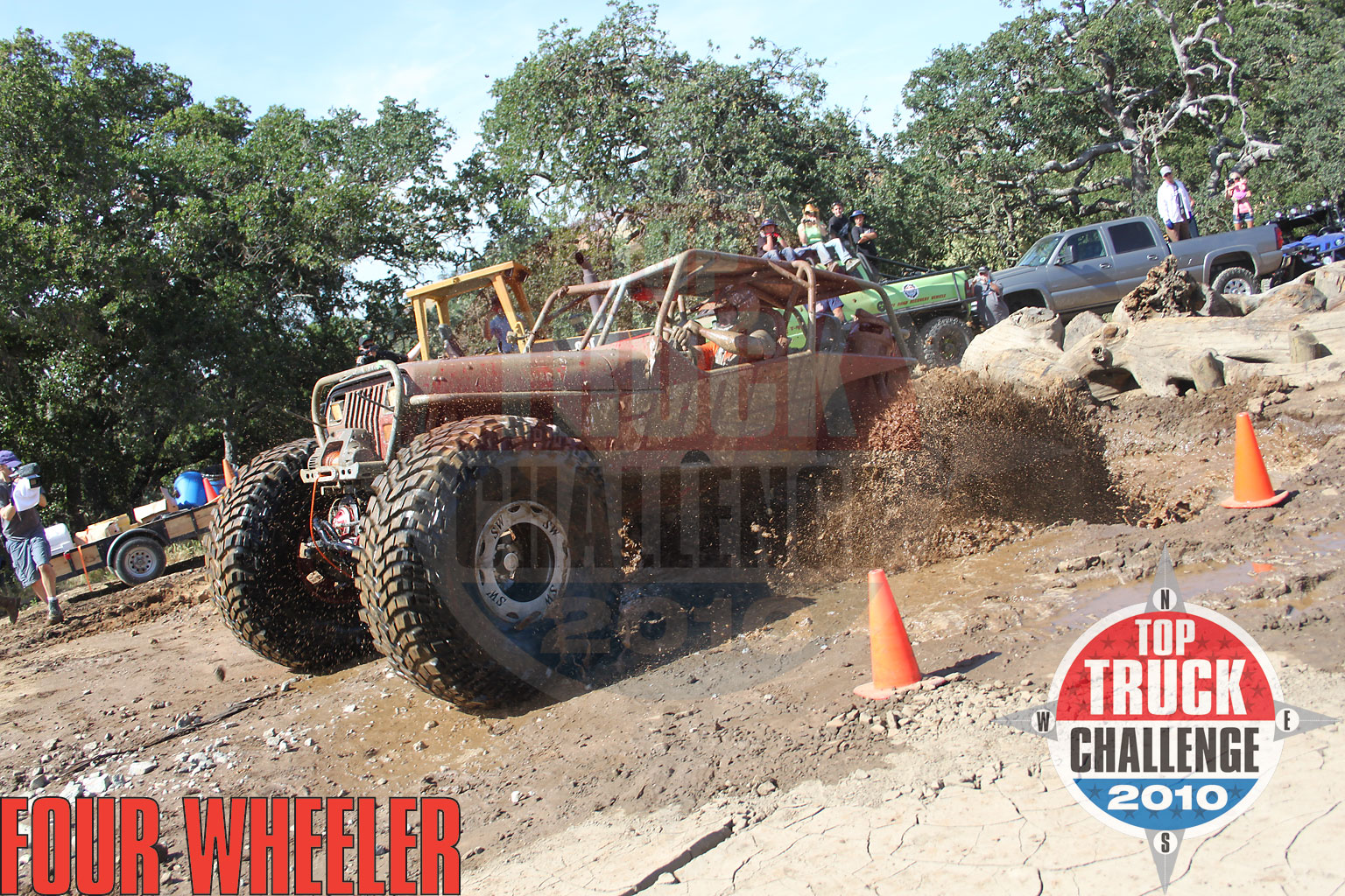 2010 Top Truck Challenge Frame Twister Mike Karwath 2009 Tube Chassis Yj Buggy