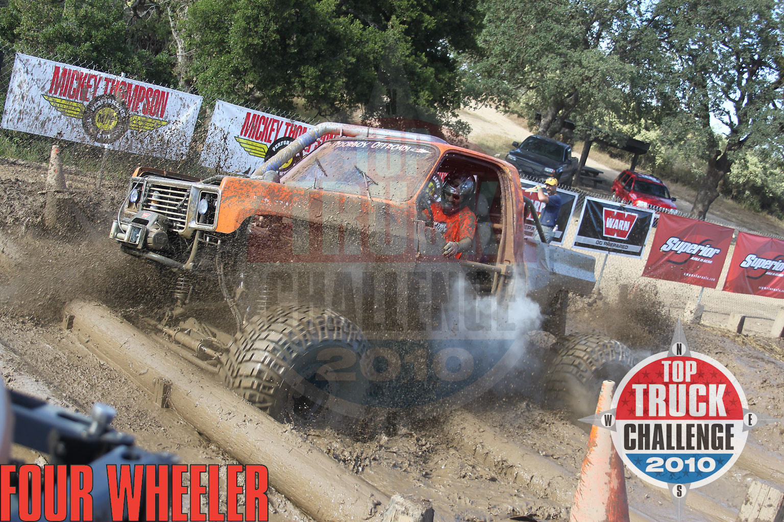 2010 Top Truck Challenge Frame Twister Jason Gray 1975 Chevy Blazer