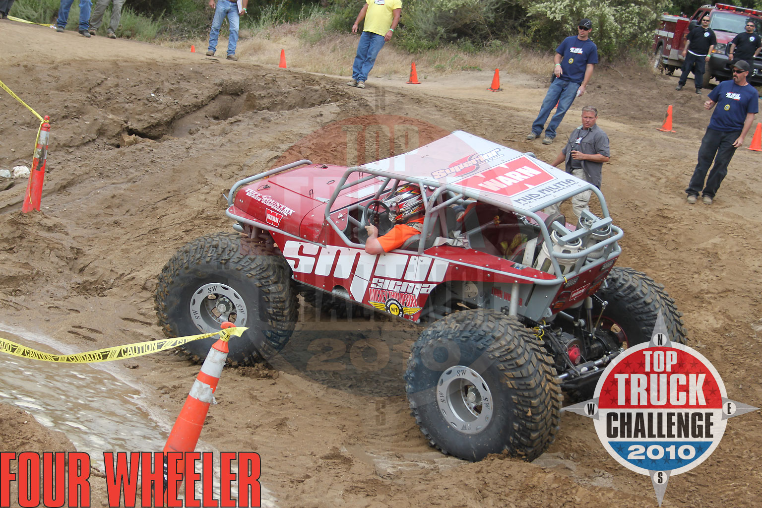 2010 Top Truck Challenge Obstacle Course Mike Karwath 2009 Tube Chassis Yj Buggy
