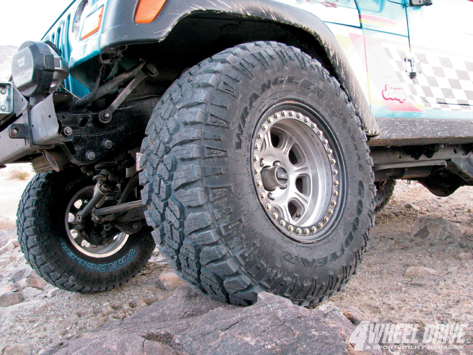 goodyear Wrangler DuraTrac Tires rock Crawling Photo 29639507