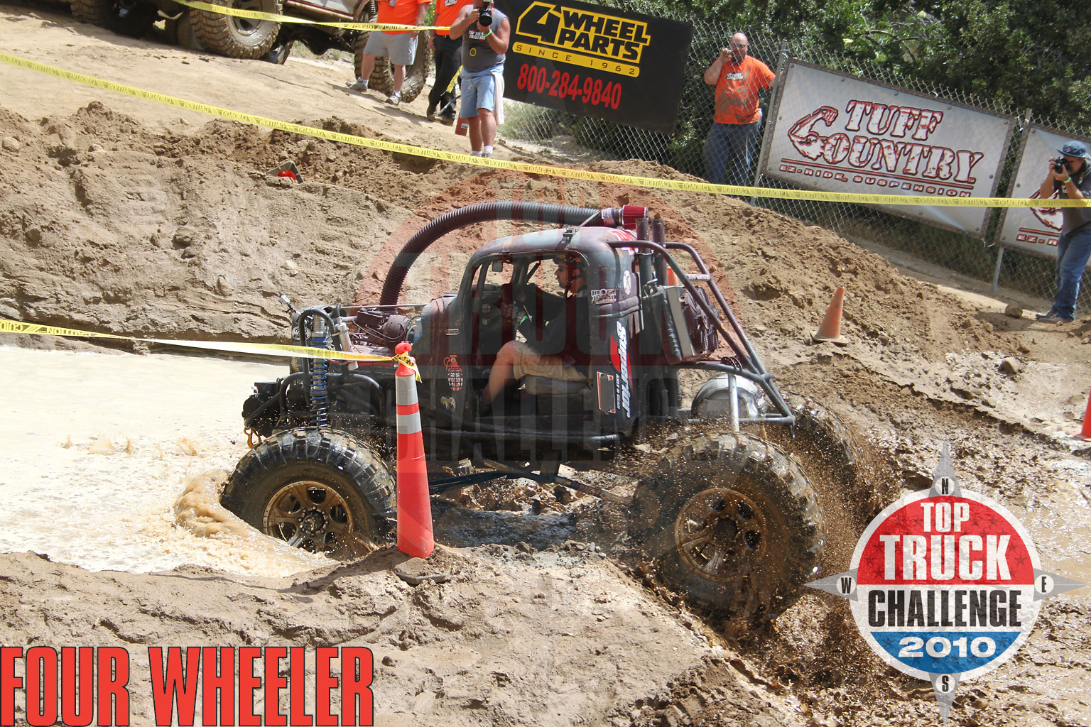 2010 Top Truck Challenge Obstacle Course Kevin Simmons 1937 Ford Pickup